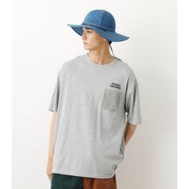ケーブルTシャツ T.GRY