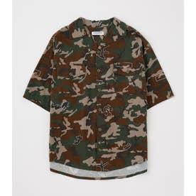 ファティーグシャツ 迷彩