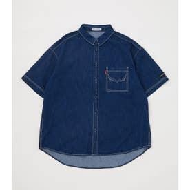 SHELTECH デニムシャツ BLU