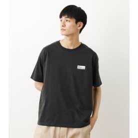 メンズビッグオーバルパッチTシャツ BLK