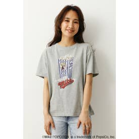 MIKE POPCORN Tシャツ (モクグレー)