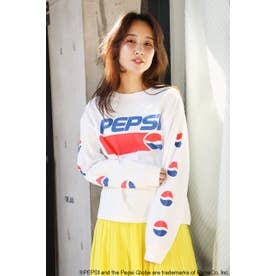 PEPSI L/S Tシャツ (ホワイト)