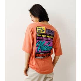 ネオンカラーサインTシャツ (ライトオレンジ)