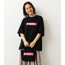 (WEB限定)BOX LOGOTシャツ&ミニトート (ブラック)