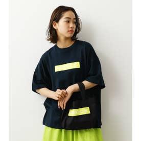 (WEB限定)BOX LOGOTシャツ&ミニトート (ネイビー)