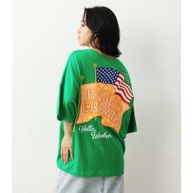 バンダナフラッグTシャツ (グリーン)