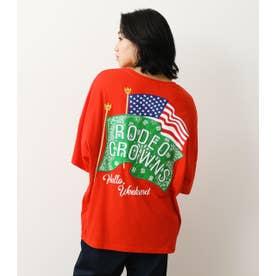 バンダナフラッグTシャツ (レッド)