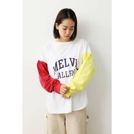 バリエーションロングTシャツ (ホワイト)