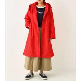 オーバー ロング モッズ コート RED