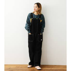 Work LOOSEサロペット BLK