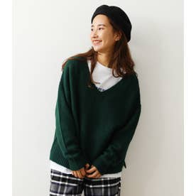 KNIT & L/Tレイヤードセット GRN