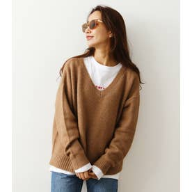 KNIT & L/Tレイヤードセット BEG