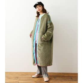 Faux Fur Quilt Reversible コート KHA