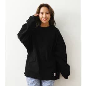 SHARE L/S Tシャツ BLK