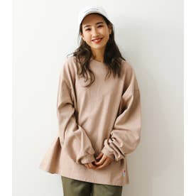 SHARE L/S Tシャツ BEG