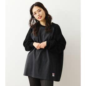SHARE ラグランスリーブL/S Tシャツ BLK