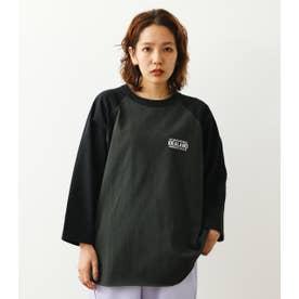 IDEALANDラグランL/S Tシャツ C.GRY