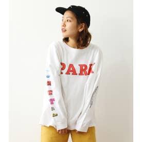 PARK L/S Tシャツ WHT