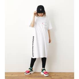 レギンス付キTシャツワンピース WHT
