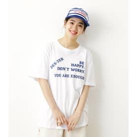 BE HAPPY Tシャツ WHT