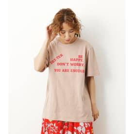 BE HAPPY Tシャツ BEG