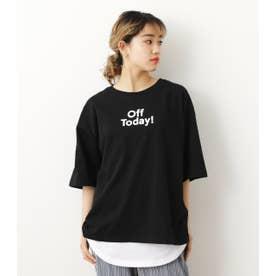 メッセージTシャツタンクセット BLK
