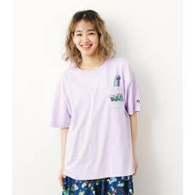 Ryu Ambe×RCSポケットTシャツ L/PUR1