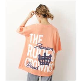CROWN LOGO ニットTシャツ L/ORG1