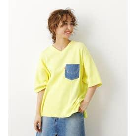 クレイジー BIG ニット Tシャツ L/YEL1
