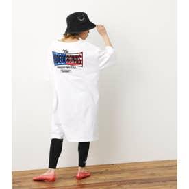 US Tシャツワンピ レギンスセット WHT