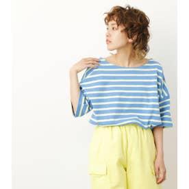 ボーダールーズTシャツ 柄YEL5