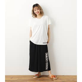 Onemile Tシャツ&リラックスパンツセット 柄BLK5
