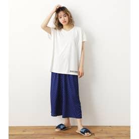 Onemile Tシャツ&リラックスパンツセット 柄NVY5