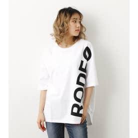 サイドロゴTシャツ WHT