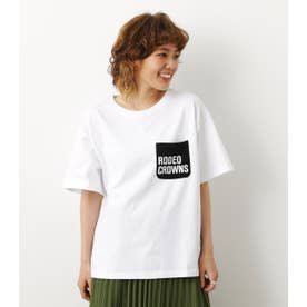 ロゴポケットTシャツ WHT