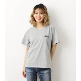 LOGO VネックTシャツ T.GRY
