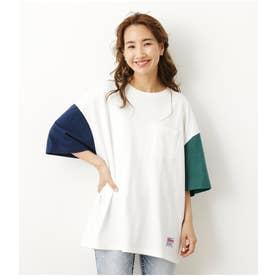 SHARE BIG Tシャツ 柄WHT5