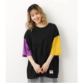 SHARE BIG Tシャツ 柄BLK5
