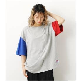 SHARE BIG Tシャツ 柄T.GRY5