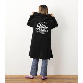 Tシャツ付キガウン BLK