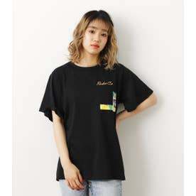 バックリボンTシャツ BLK