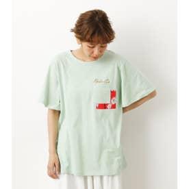 バックリボンTシャツ MINT