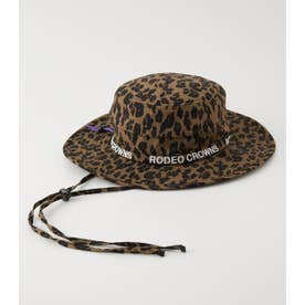 TEXTILE HAT 柄BRN5