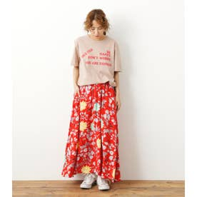 アロハマキシスカート'21 柄RED5