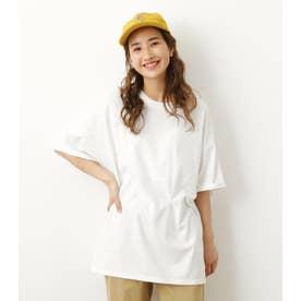 SCHOOL ROLL UP ビッグTシャツ O/WHT1