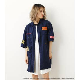 (TS) WDYスカウトビッグシャツ NVY