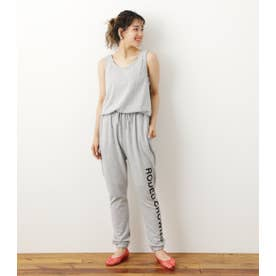 Onemileロゴカットオールインワン T.GRY