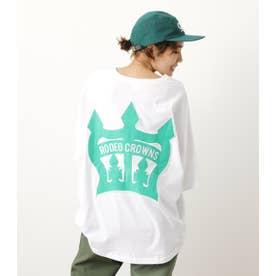 COL CROWN PATCH BIG Tシャツ WHT