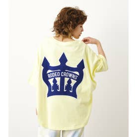 COL CROWN PATCH BIG Tシャツ YEL
