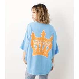 COL CROWN PATCH BIG Tシャツ L/BLU1